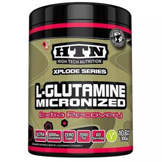 Glutamina 300 Grs Htn Micronizada Recuperación Y Masa Mejor Asimilación Ideal Para Recuperación Y Masa
