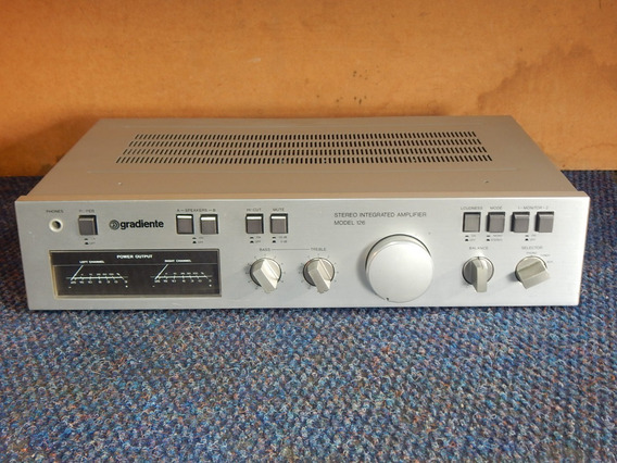 Gradiente Amplificador Model 126 - Linha Compo Assit O Vídeo