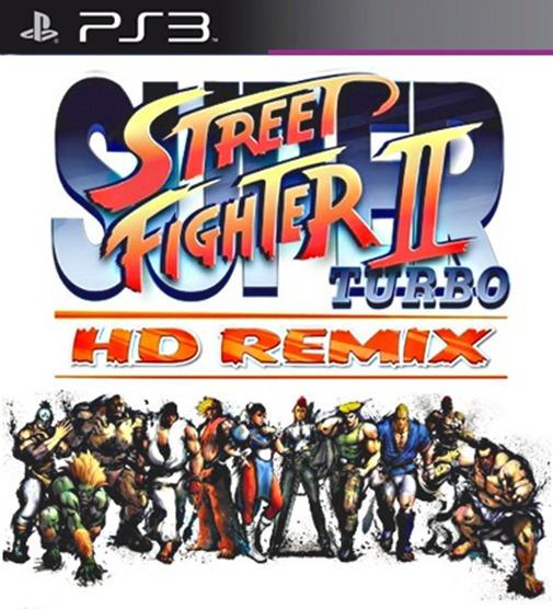 Super Street Fighter 2 Turbo Hd Remix Ps3 Psn Digital