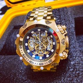 Relógio Invicta Venom Hybrid Dourado