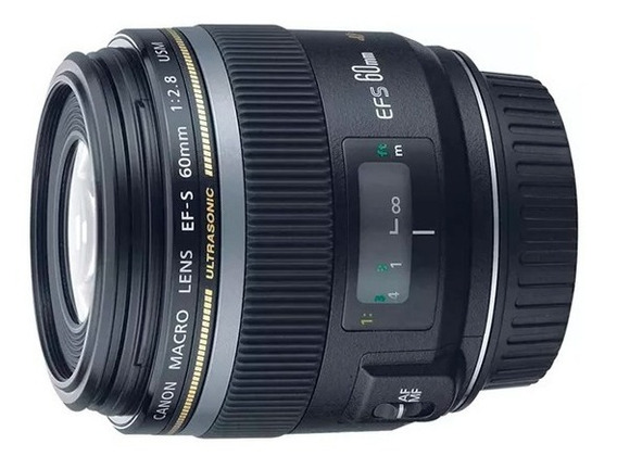 Lente Canon Ef 60mm Macro Pronta Entrega