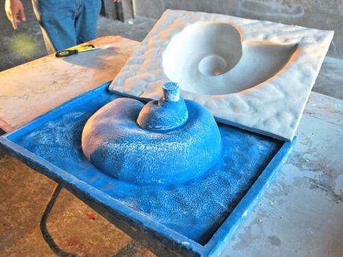 Caucho Silicona Liquido Mold  X 225g Moldes Lavamanos 30