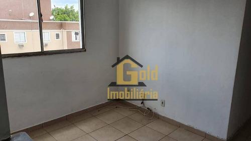 Apartamento Com 2 Dormitórios À Venda, 47 M² Por R$ 150.000,00 - Ipiranga - Ribeirão Preto/sp - Ap2380