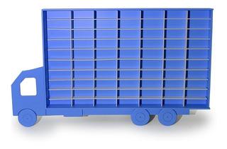 Caminhão Porta Carrinhos Hot Wheels 70 Div. - Mdf