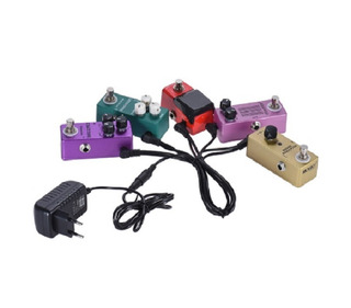 Fuente Transformador Pedales Guitarra 5 Salidas 9v Switching