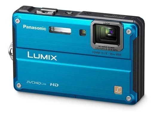 Lumix Dmc-ts2 - Panasonic Á Prova D´agua - Filma Em Hd