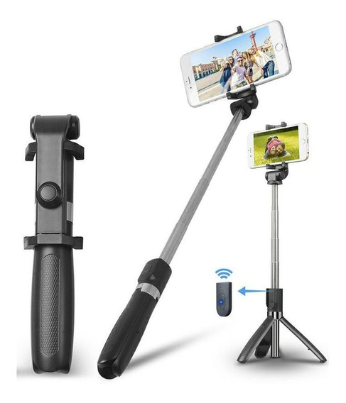 Pau De Selfie Tripe Bluetooth Sem Fio Similar Ao Xiaomi
