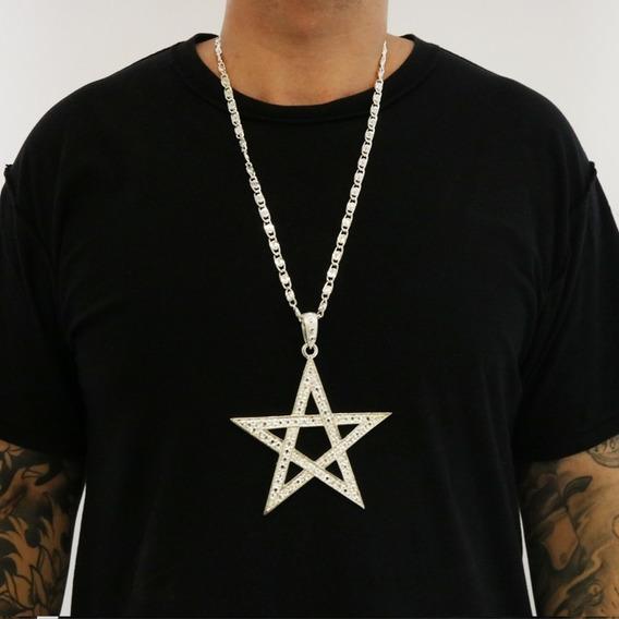 Collar Estrella Color Plata