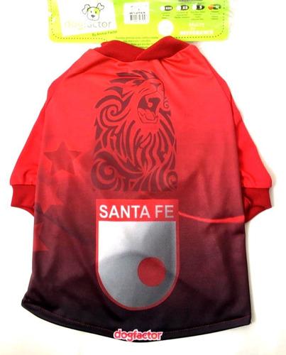 Camiseta De Equipos Santa Fe Para Perro Talla Xl