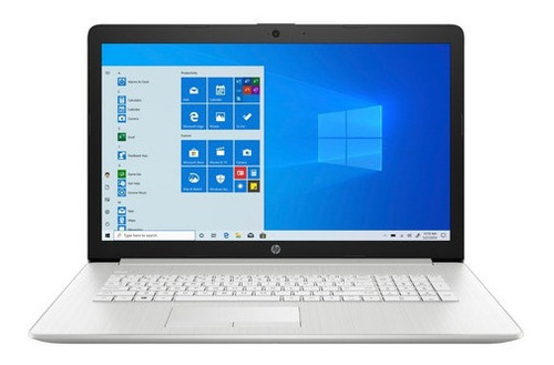 Notebook Hp Core I5 8gb 1tb+128gb Ssd Dvd W10 Hd 17.3'
