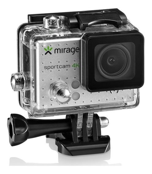 Câmera Mirage Sport 4k Mr3001 -com Nfe E Garantia