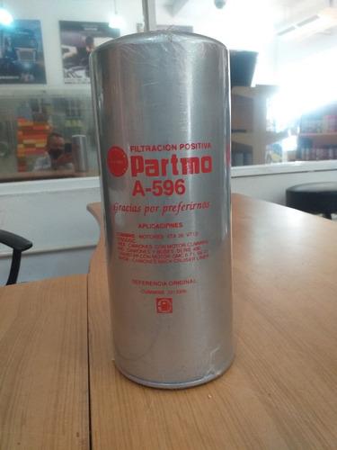 Filtro De Combustible A596 33116 P552216 Bf1216 Ff202 Wp3430