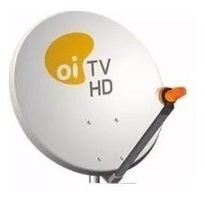 Kit 5 Antenas 60 Cm + 5 Lnb Duplos - Logo Oi Tv.