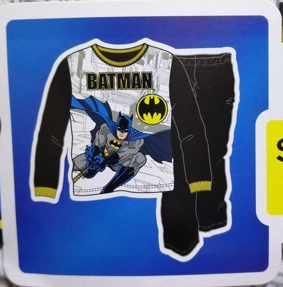 Pijama Abrigadora De Batman Talla 6/7