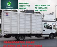 Mudanzas Economicas Y Fletes Al Interior $28por Km Camion