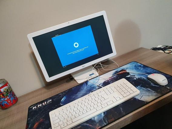 Computador All In One 21,5 Full Hd 500gb Hd 4gb Ram Celeron