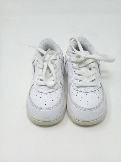 Tenis Nike Blanco Agujetas. La Segunda Bazar