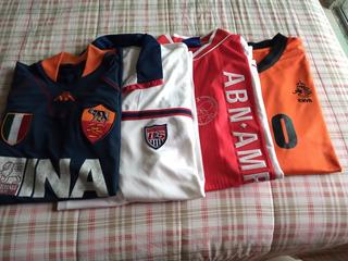 Camisas De Times Estrangeiros E Seleções(4 Camisas)
