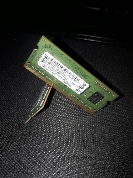 Smart Memória Notebook 2gb Ddr3 Pc3 1333 10600 1.5v 1rx8