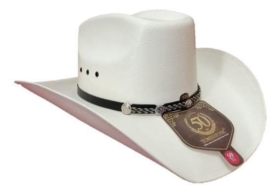 Sombrero Vaquero Tombstone Color Natural Horma 8 Segundos