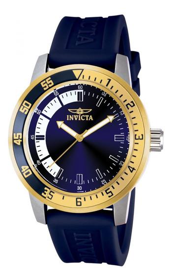 Reloj Invicta 12847 Azul Hombre
