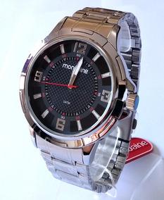 Relógio Masculino Mondaine Prateado Original 83398gomvne1.