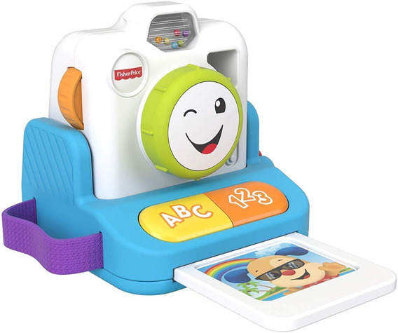 Nova Fisher Price Câmera Sorrisos E Aprendizagem Mattel