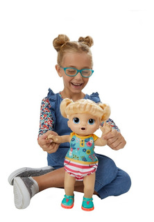 Muñeca Baby Alive Step´n Giggle Alumbran Zapatos