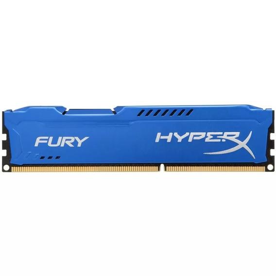 Memória Ddr3 8gb Hyperx Fury Blue 1600mhz