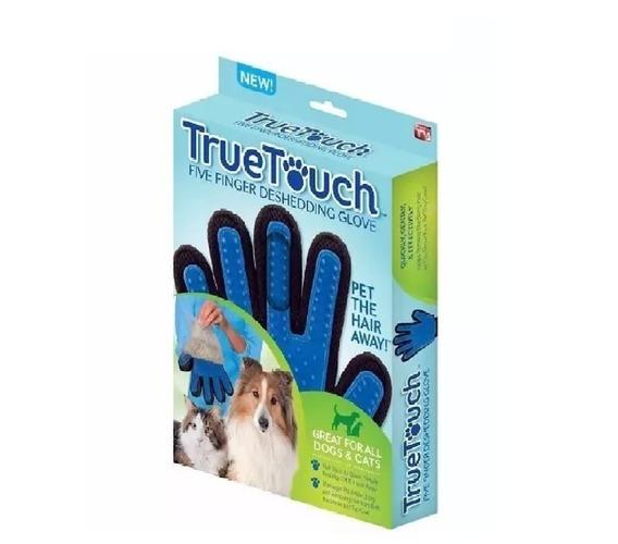 Escova Luva True Tuch Tira Pelo Filhote Pet Shop Original