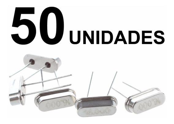 50pcs Cristal Oscilador 16 Mhz - Pronta Entrega!