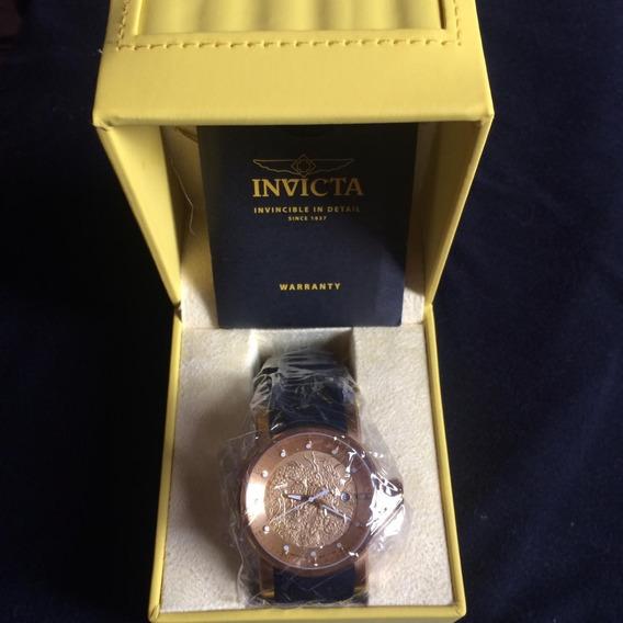 Relógio Invicta S1 Rally Yakuza 15863 - Ouro 18k