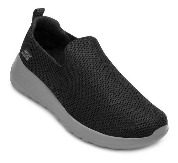 Tênis Iate Skechers Go Walk Max Sk20-5460 Preto-cinza