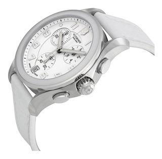 Reloj Victorinox Swiss Army White Chronograph Antes 24000$!!