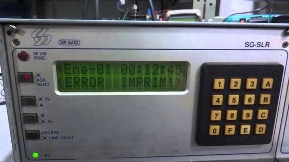 Receptora De Alarme Sur-gard Sg-slr Usada Em Perfeito Estado
