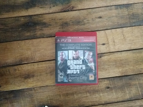 Grand Theft Auto 4 +episodes From Liberty City,ps3