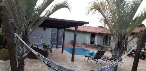 Imagem 1 de 24 de Casa À Venda, 600 M² Por R$ 1.500.000,00 - Condomínio Real Village - Piratininga/sp - Ca3420