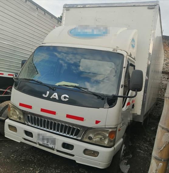 Camion Jac 1063 Furgon Seco En Fibra Modelo 2013 Matriculado