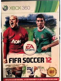 Fifa Soccer 12 Videojuego Xbox 360