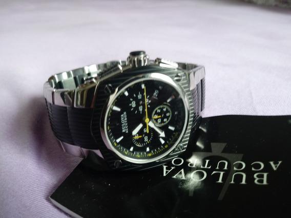 Relógio Bulova Accutron Vidro Safira