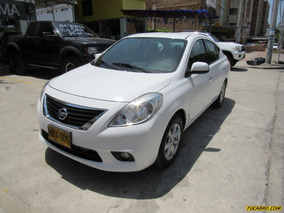 Nissan Versa Advance At 1600cc 2ab Abs