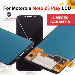 Display Tela Touch Frontal Lcd Motorola Z3 Primeira Linha