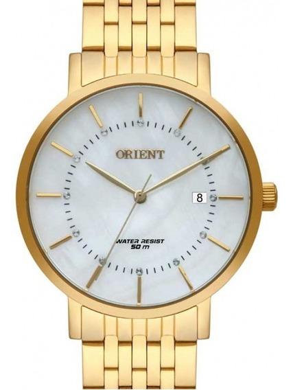 Relogio Orient Feminino Dourado - Fgss1164 B1kx