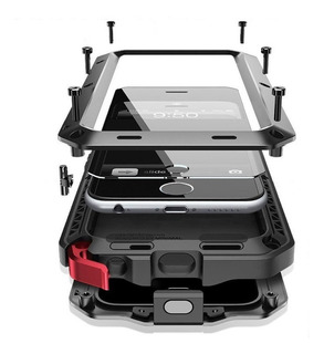 Funda iPhone Xs Max Armor iPhone X Xr Metalico Uso Rudo