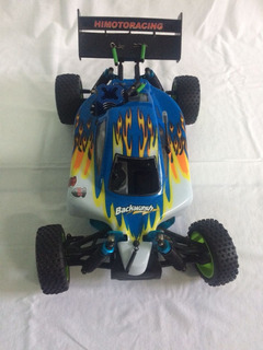 Automodelo Syclone Buggy Off Road 1/10 4x4 Nitro -2 Marchas