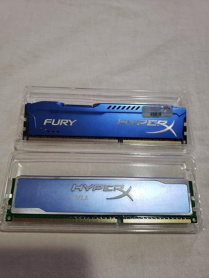 Memoria Ram Ddr3 8gb(2x4) Hyperx Blu 1600mhz