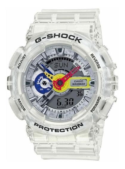 Relógio Casio Ga-110frg-7a G-shock Ferg Transparente Clear