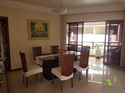 Apartamento À Venda, 219 M² Por R$ 850.000,00 - Pituba - Salvador/ba - Ap0700