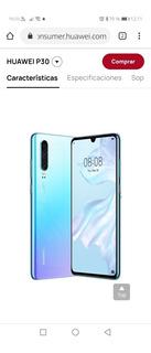 Celular Huawei P30, Modelo Ele-l04