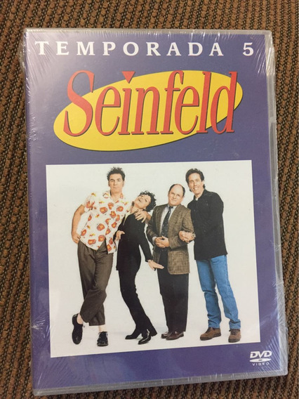 Seinfeld Temporada 5 Dvd Nuevo Jerry Seinfeld Larry David